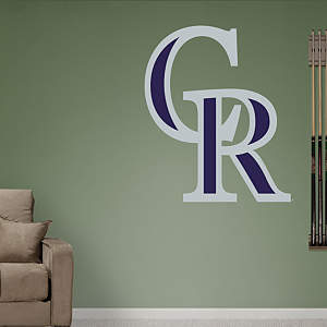Colorado Rockies Alternate Logo Fathead Wall Decal